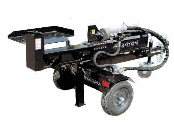 40T Log Splitter 1 - generator toowoomba