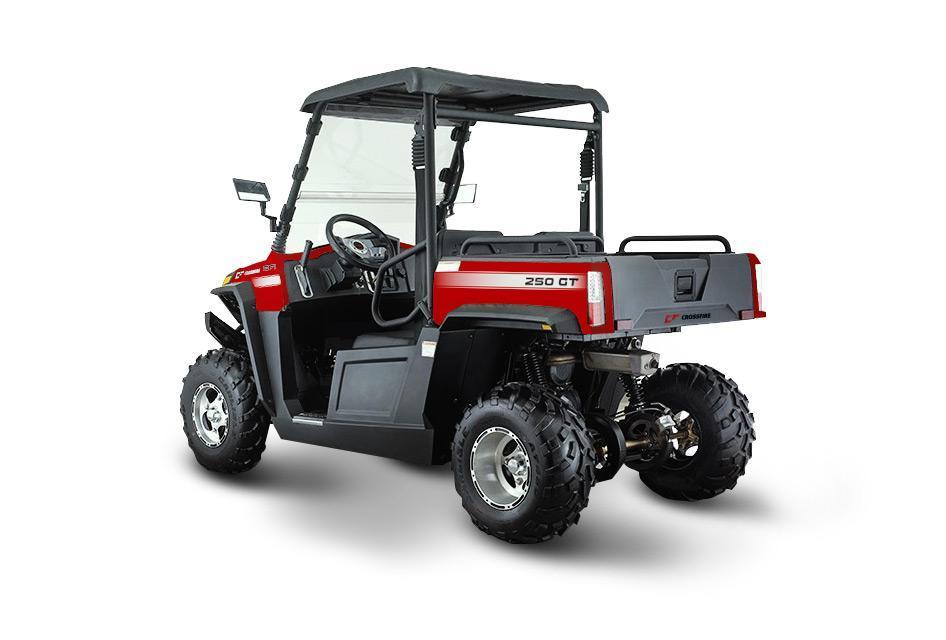 Crossfire 250GT Red Back ATV-UTV - side by side atv toowoomba