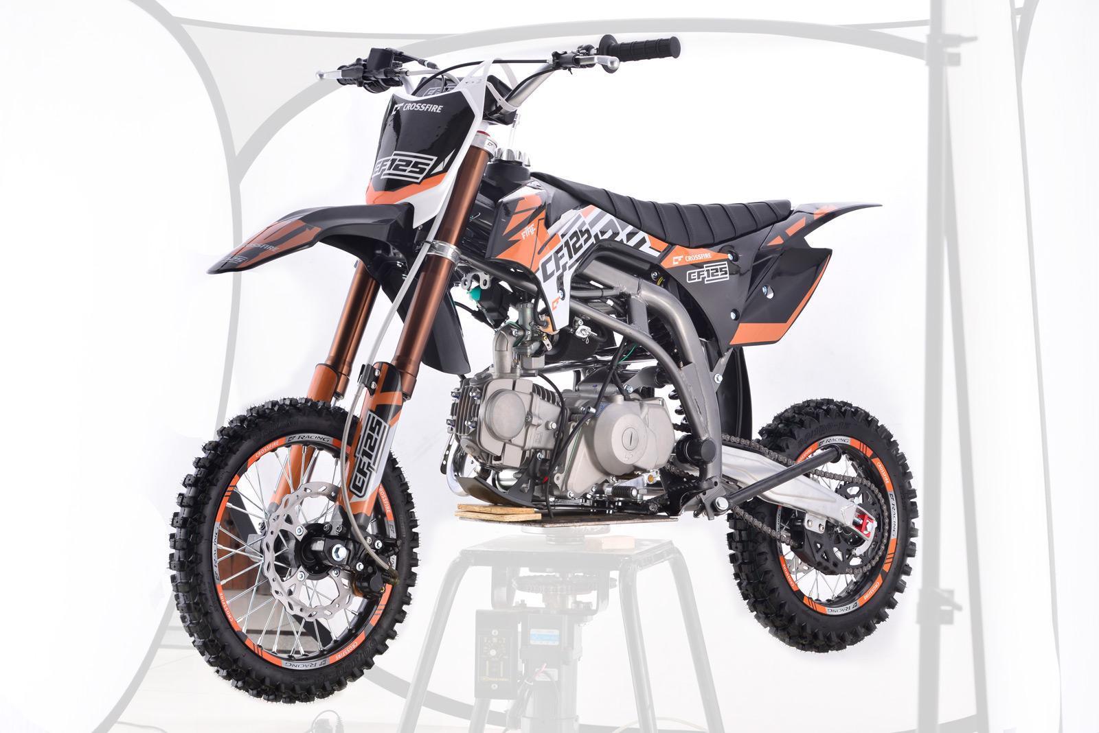 Crossfire CF125 2018-2019 Black - dirt bikes store chinchilla