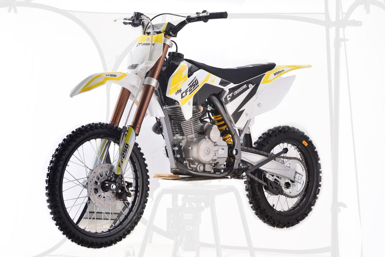 Crossfire CF250 2018-2019 White - dirt bikes store dalby